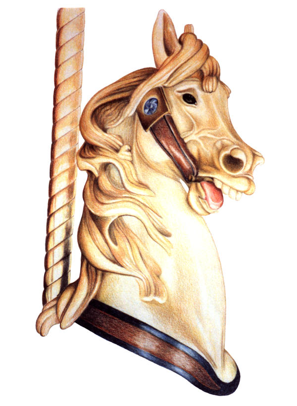Merry Go Round Horse 2 by stlcrazy