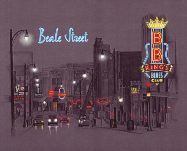 Beale Street by stlcrazy