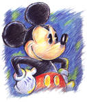 Sketchy Mickey Mouse