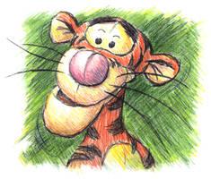 Sketchy Tigger