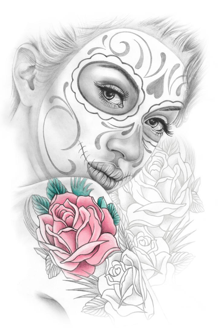 Day of the Dead Girl by stlcrazy