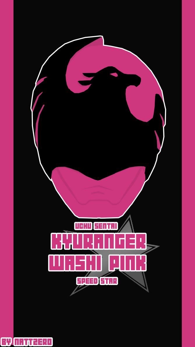 Uchu Sentai Kyuranger - Washi Pink by Zeronatt1233