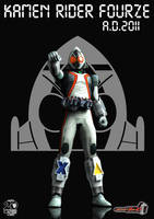 A.D.2011 Kamen Rider Fourze by Zeronatt1233