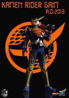 A.D.2013 Kamen Rider Gaim by Zeronatt1233