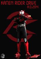 A.D.2014 Kamen Rider Drive by Zeronatt1233