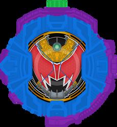 Fanmade:Kiva DoGaBaKi Emperor Form RideWatch by Zeronatt1233