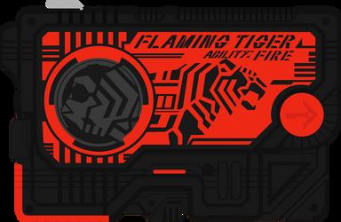 Flaming Tiger ProgriseKey