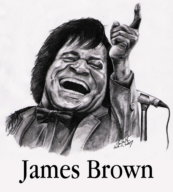 James Brown by obilo