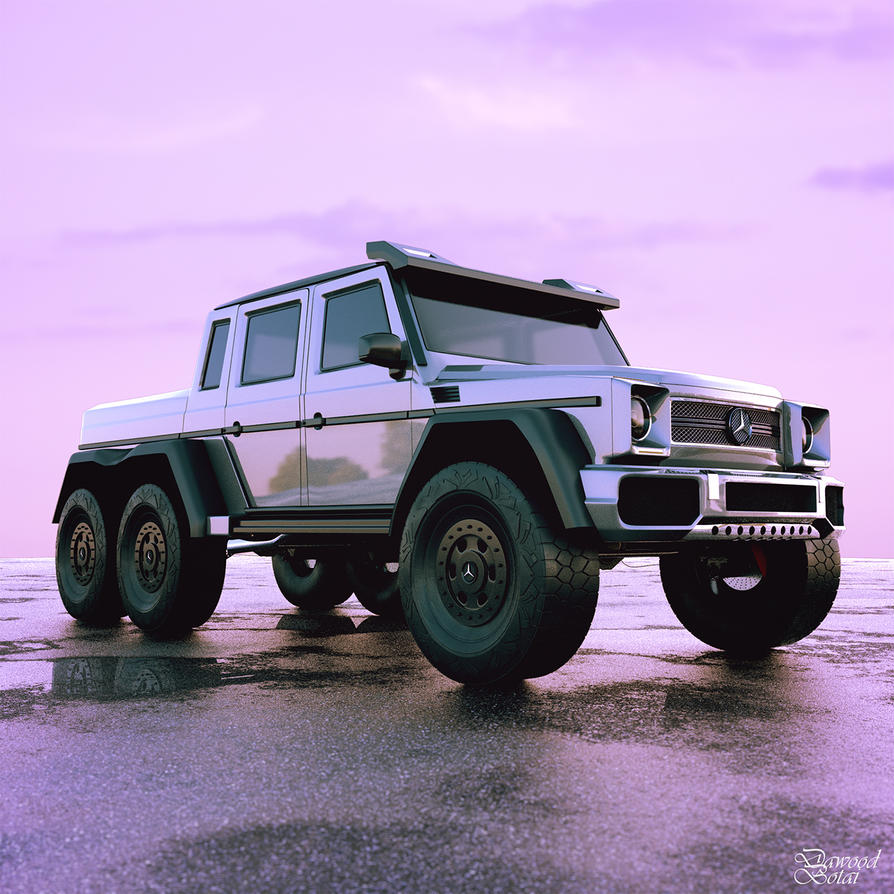 Mercedes 6x6 by NoxDawood