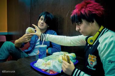 That's MY burger by nikoporu