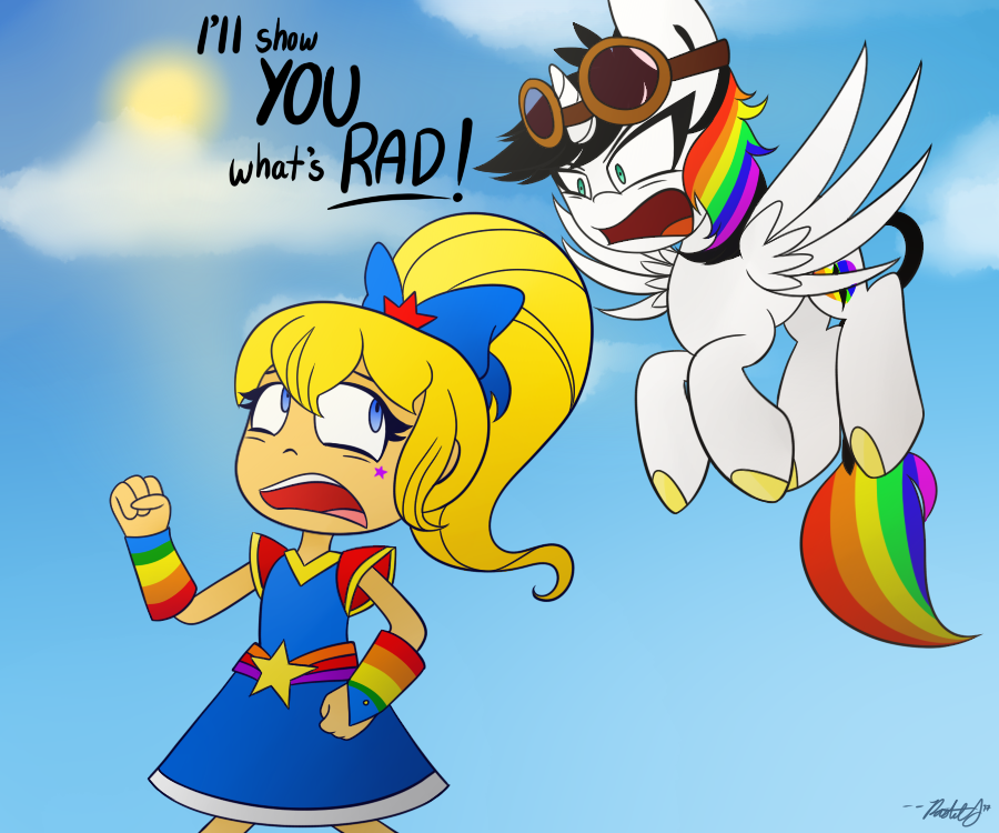There's Nothing Rad About This by Pastel-Script