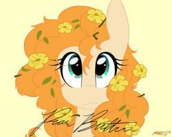 Flowers in Her Hair - Pear Butter by Pastel-Script