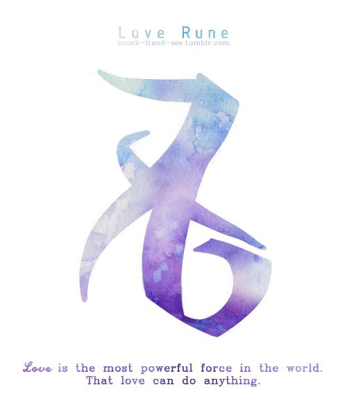 Mortal Instruments Love Rune