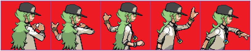 [Commission] N Backsprite