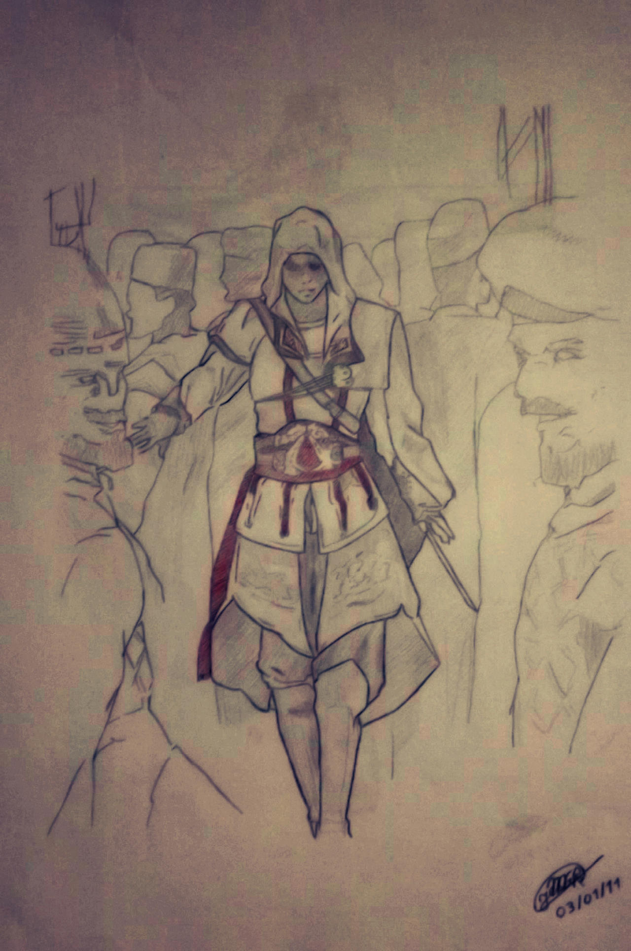Assassin's Creed - Altair by Marcos-Fernando