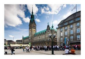 Town Hall Hamburg by MCG0603