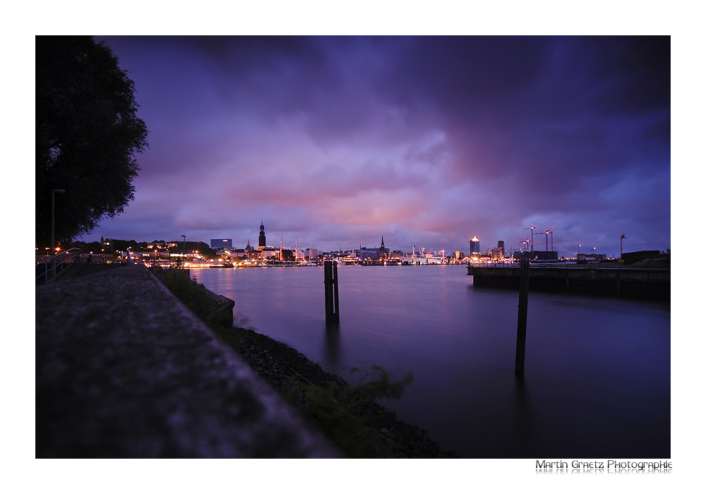 Skyline Hamburg by MCG0603