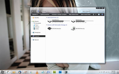 Win7 build 7264 with Lumens by 1ph8