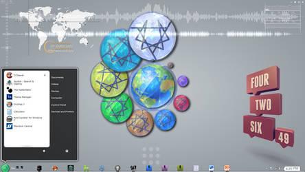 default Eos desktop by 1ph8