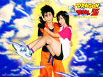 Gohan and Videl by sarifromwonderland