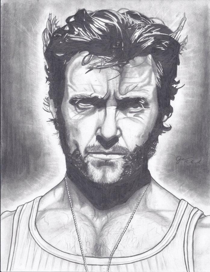 Hugh Jackman by Joezart