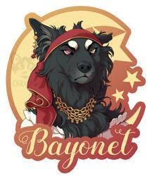 Bayonet badge by Chrysisi