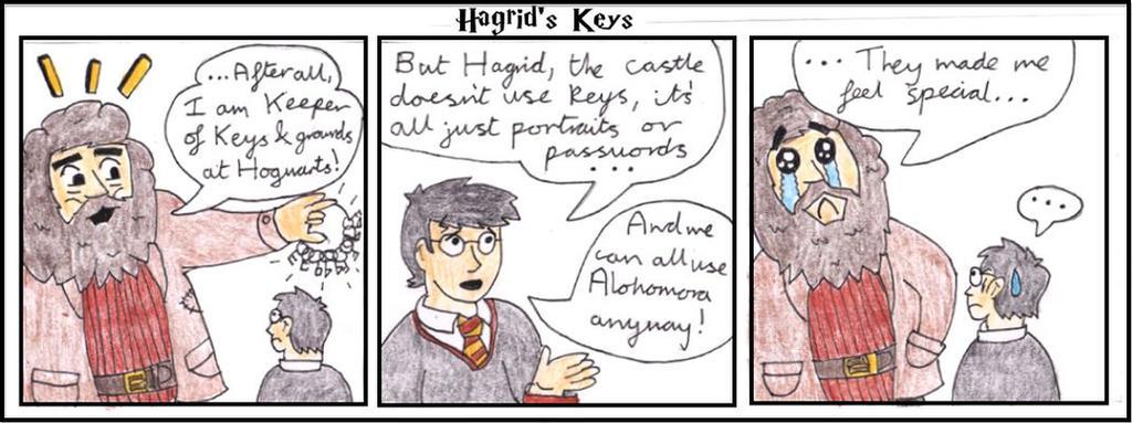 Hagrid: Keeper of the Keys? by WalkerP on DeviantArt Gobletoffire