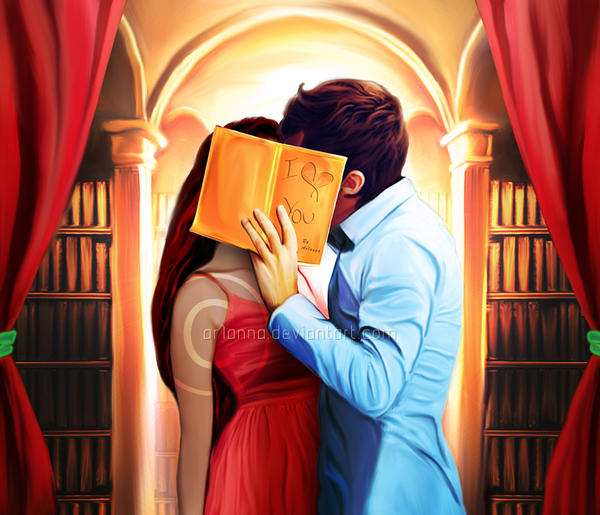 Library Love by ar1anna