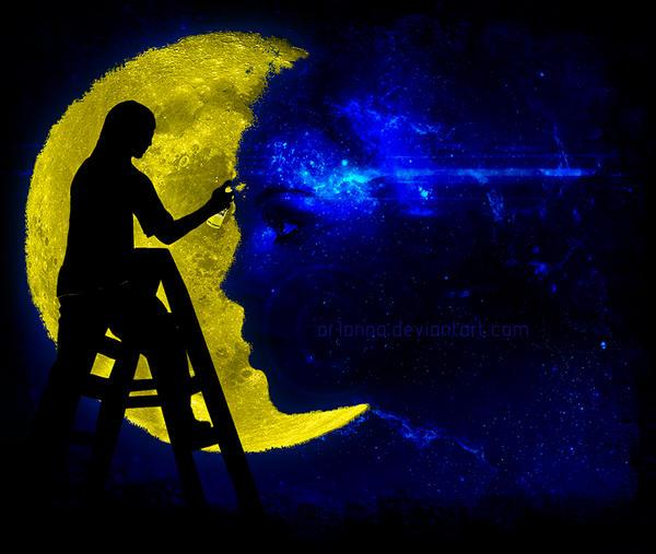 Graffiti Moon by ar1anna