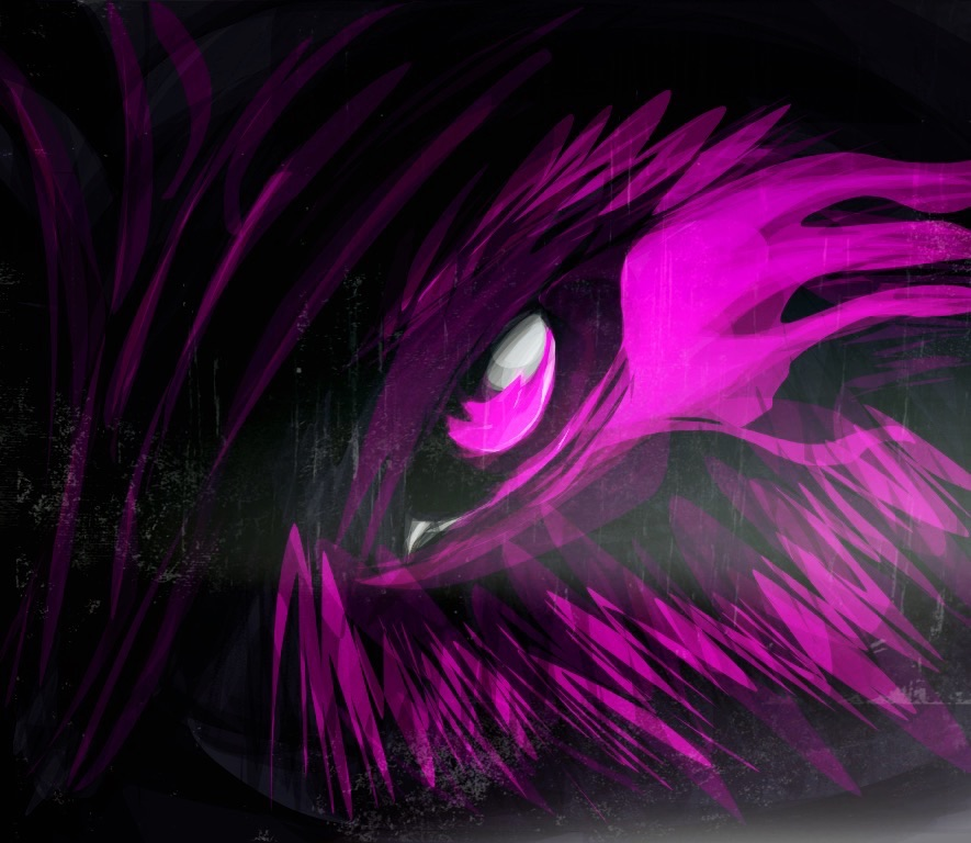 Neon Wolf Eye Wallpaper By ShawnTheZoroark