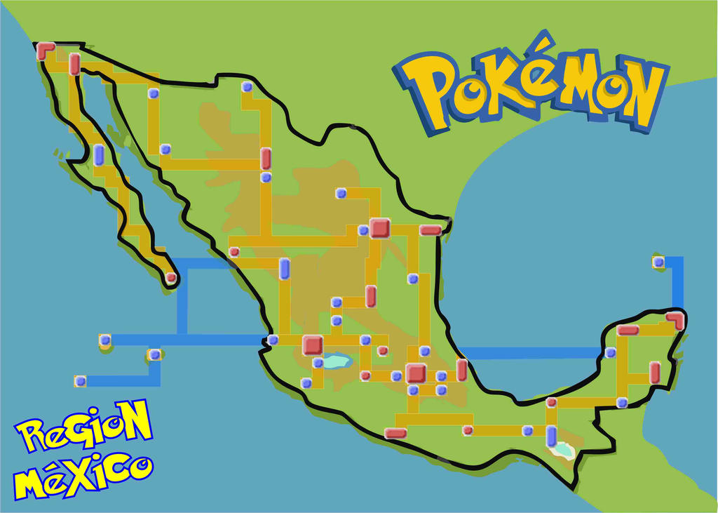 Pokemon Quest Map by Nitram-Lion on DeviantArt on