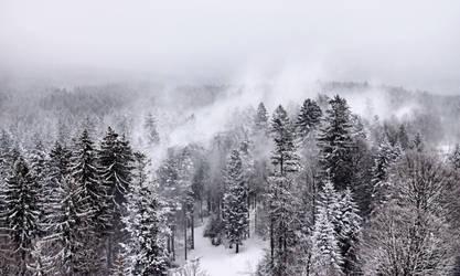 Snow Spout II by MK-NI