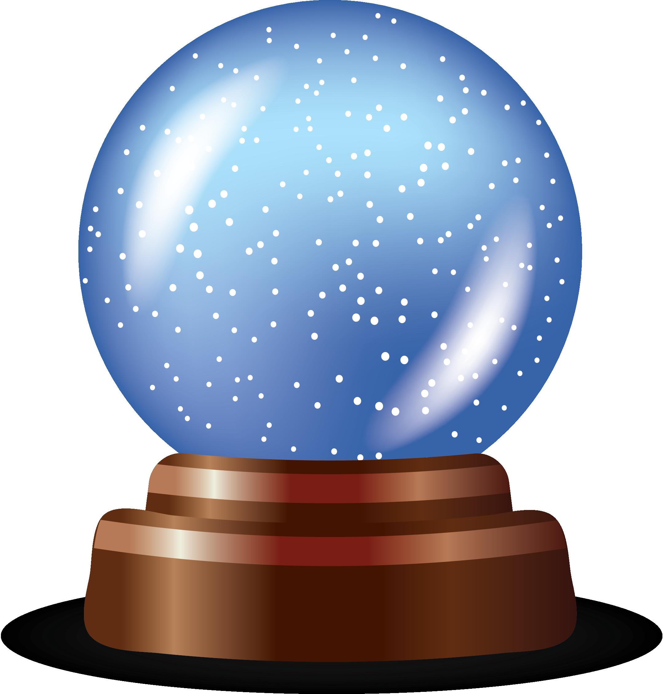 free clipart snow globe - photo #33