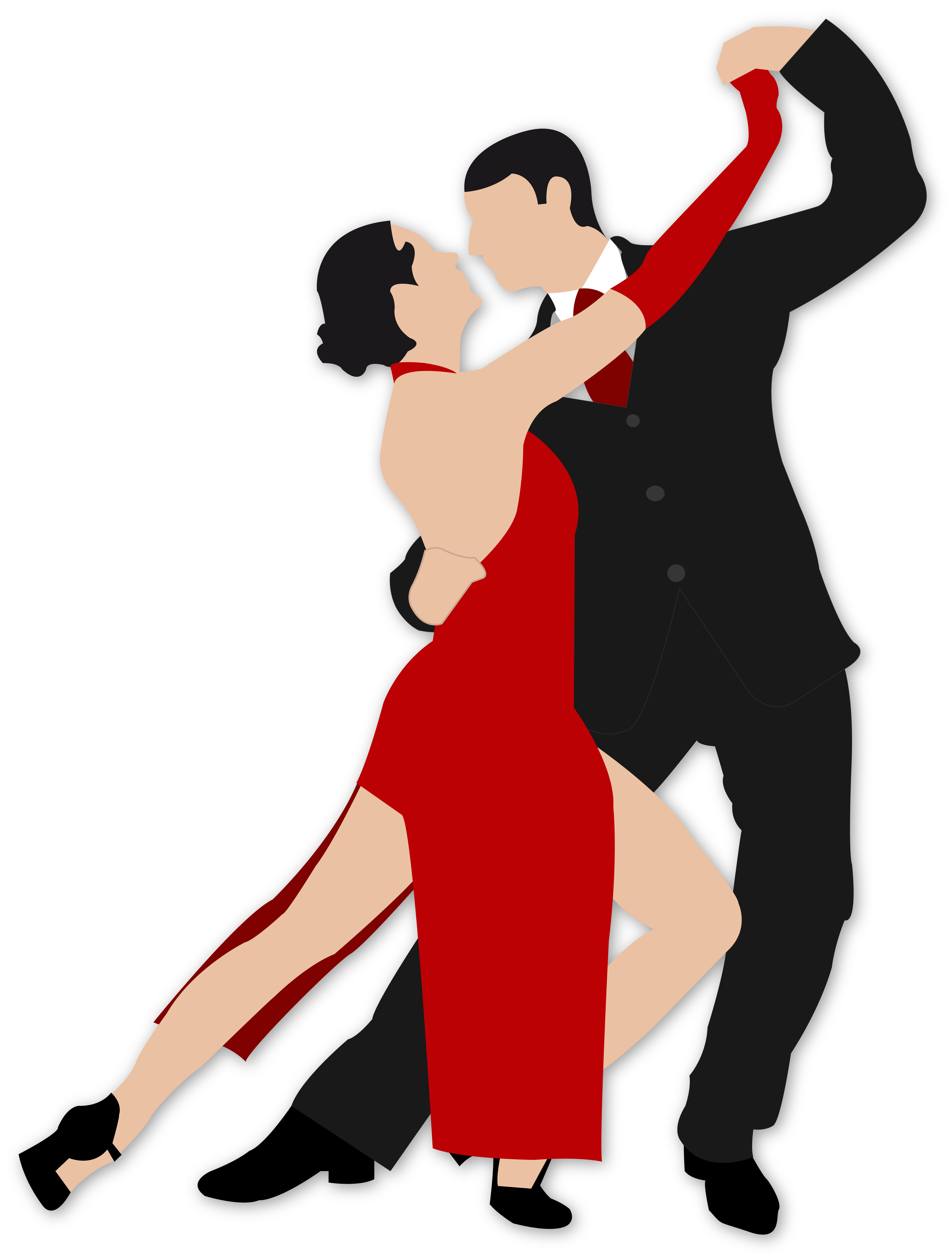 tango by susannels on deviantart Dance Clip Art Dance Silhouette Clip Art