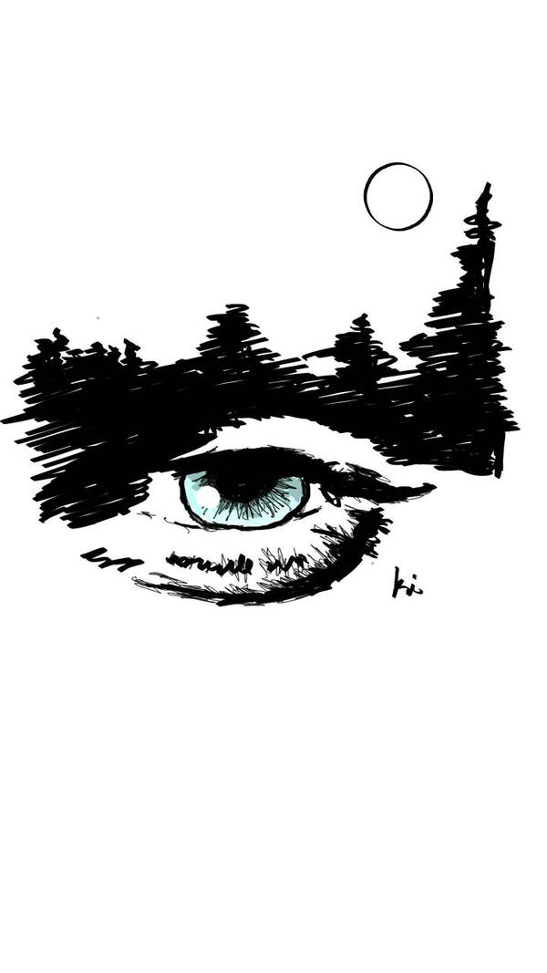 Night's Sk'eye by scarecrowslady