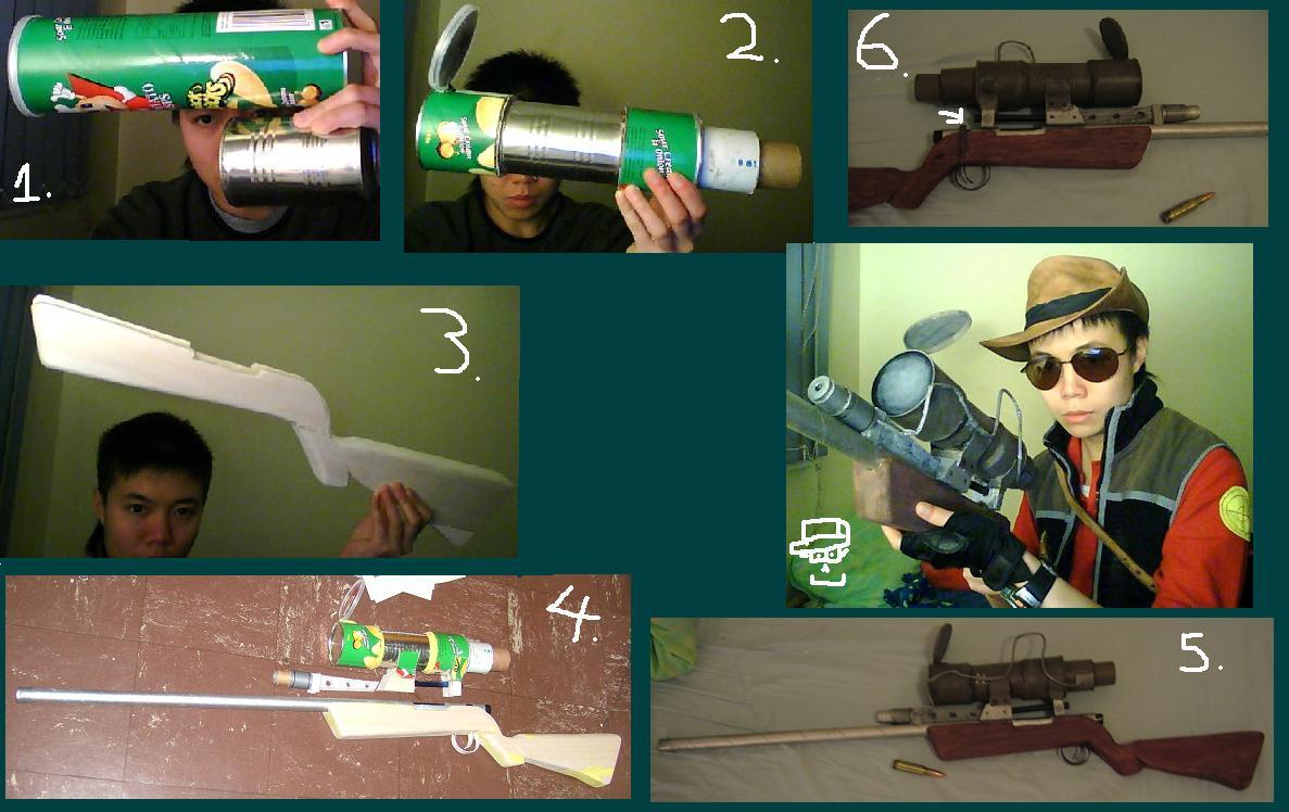 TF2 Sniper Rifle by greenzaku