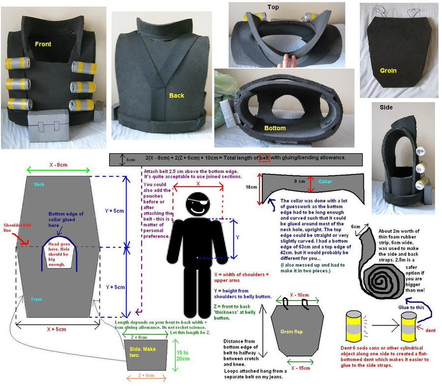 TF2 Demo vest blueprints by greenzaku