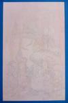 Frank Frazetta Watercolor Study - WIP Photo
