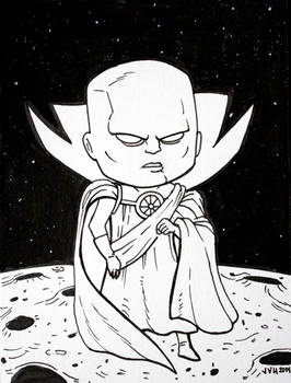 The Watcher Inktober 2014 Drawing