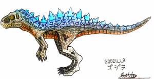 Godzilla (Dinosaur Version) by shadowkyurem12