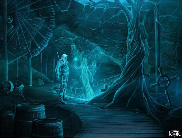 Ghosts by kkttkk