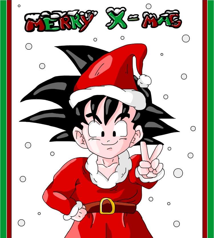 [Image: Goku__christmas_theme_by_DragonballAF.jpg]