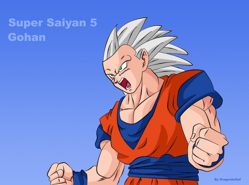Super saiyan 5 gohan b...
