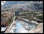 Monaco Cityscape by DragonballAF