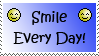 Smile Every Day Stamp by TheGhostHybrid