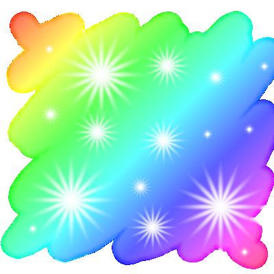 Rainbow Sparks Texture BG by ixKittyMeow