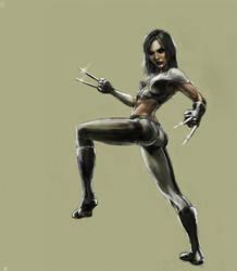 X-23 by Fieryermine