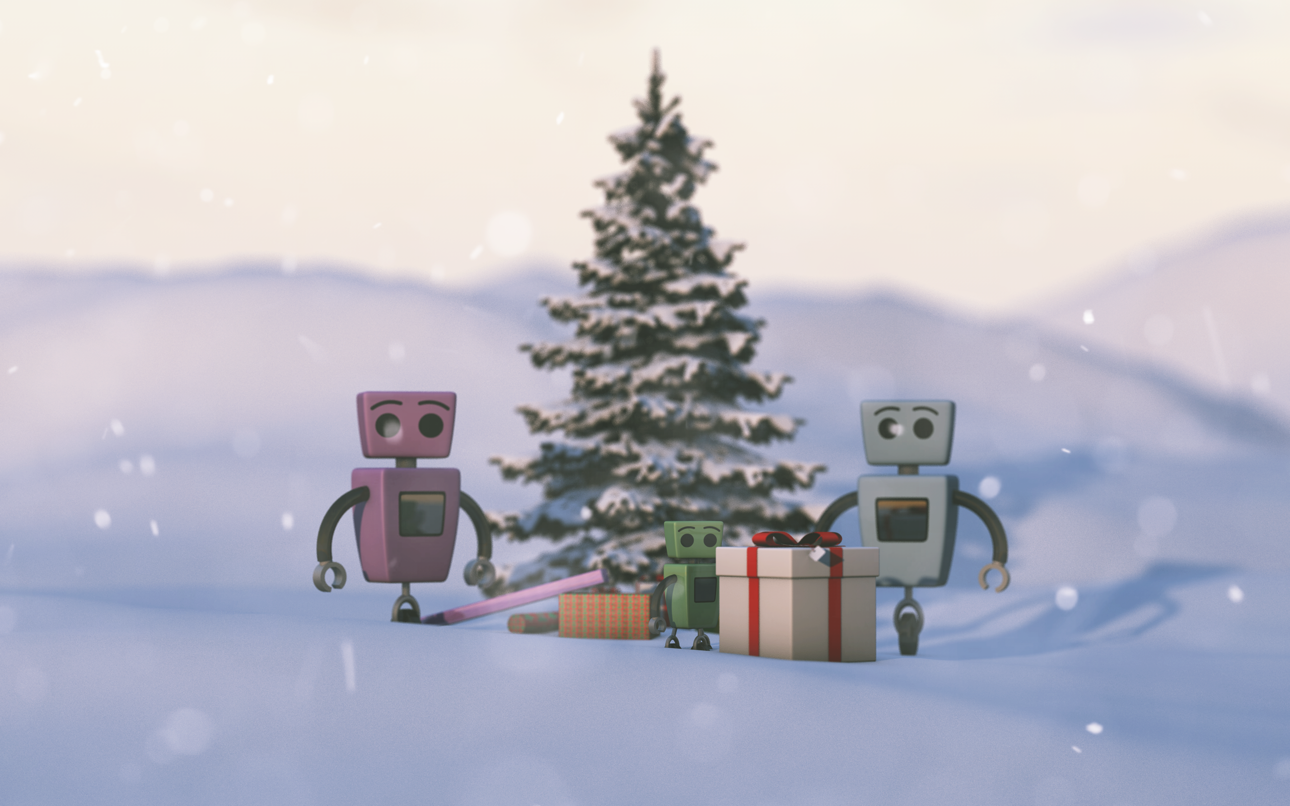 Robot Christmas. by Zictor on DeviantArt