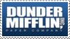 Dunder Mifflin Stamp by Sparky1232