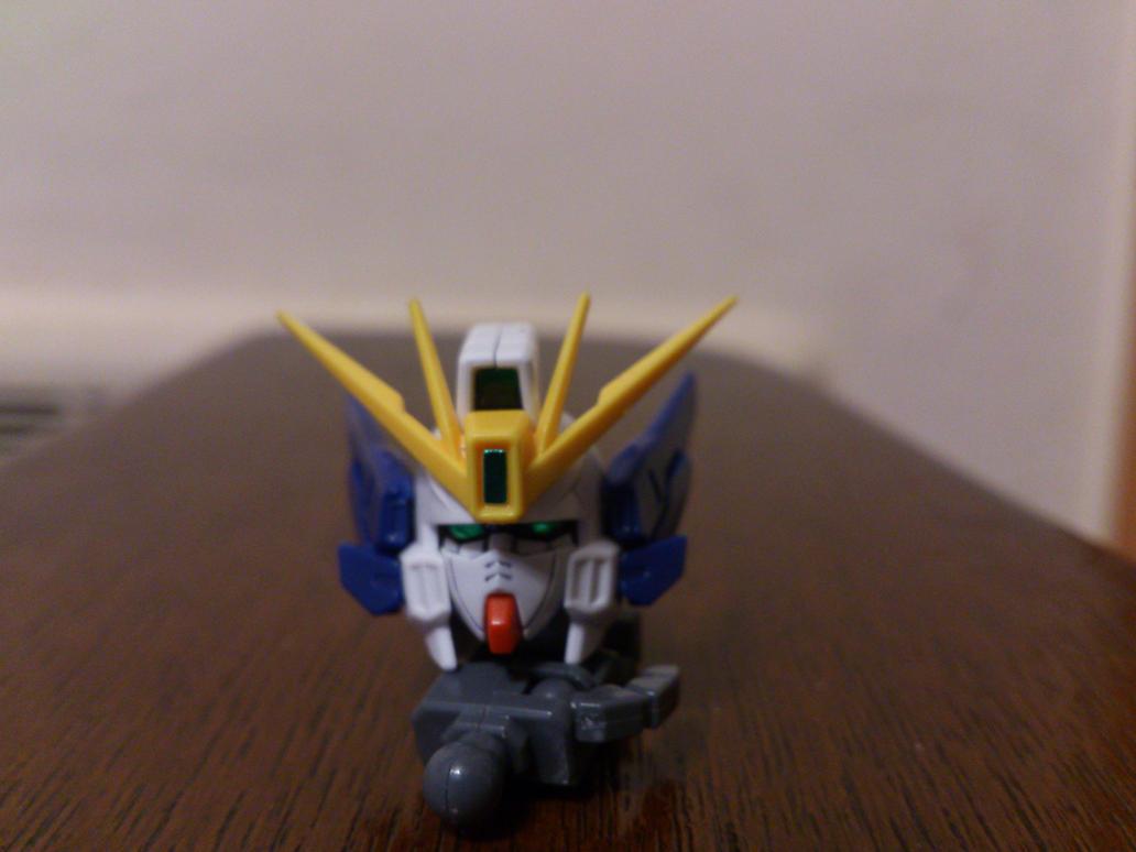 100 Wing Gundam Zero Custom Head by Shackiddy on DeviantArt